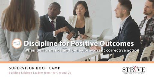 Discipline for Positive Outcomes