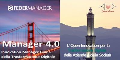 MANAGER 4.0 Open Innovation per la Trasformazione Digitale delle Aziende e della Società - EVENTO CONCLUSIVO 2018/2019