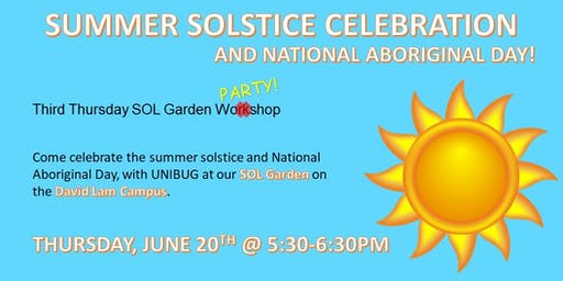 Summer Solstice and National Aboriginal Day Celebration