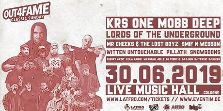 Out4Fame Classic Sunday - 30.06. - Live Music Hall Köln Tickets