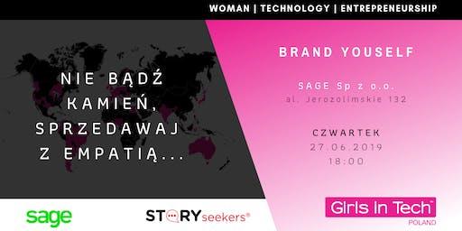 Girls in Tech & SAGE: Sprzedaż bez sprzedawania - czyli jak wykorzystać siłę historii i empatycznego słuchania w sprzedawaniu swoich pomysłów, produktów i siebie ?