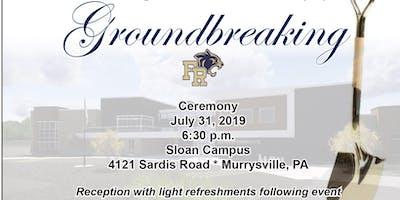 Franklin Regional Groundbreaking (Intermediate School)