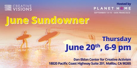 June Sundowner hosted by Creative Visions & EQ tickets