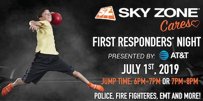 Sky Zone Cares First Responders' Night Presented by AT&T Fishers, IN
