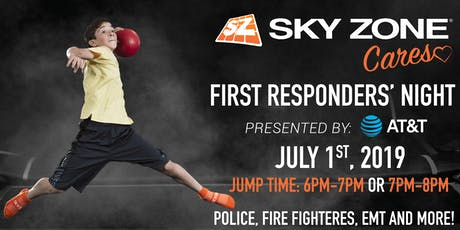 Sky Zone Cares First Responders' Night Presented by AT&T Fishers, IN   tickets