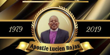 Lucien Rojas 40th year celebration tickets