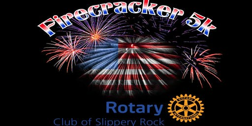 Slippery Rock Rotary Firecracker 5k run/ 2M walk