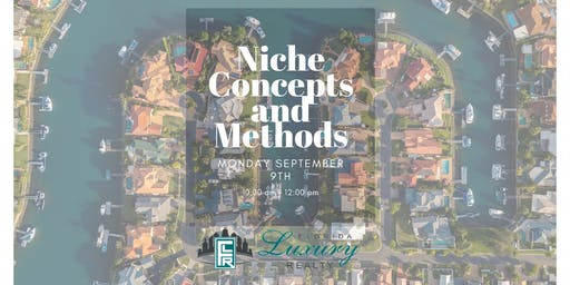 Niche Concepts and Methods