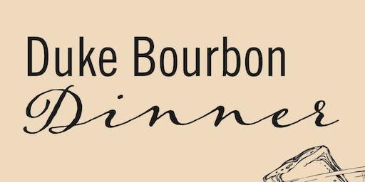 Duke Bourbon Dinner
