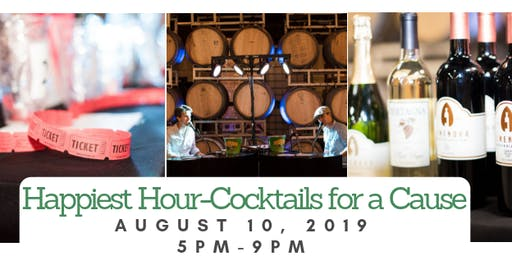 Happiest Hour-Cocktails for a Cause