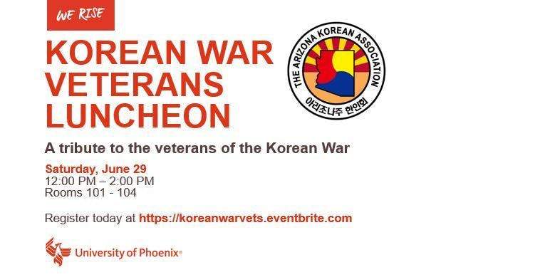 Korean War Veterans Luncheon