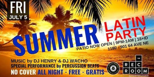 ★ Summer Latin Party ★