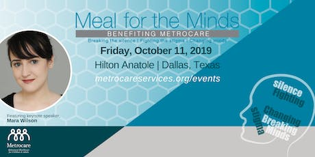 Meal for the Minds Luncheon 2019 tickets