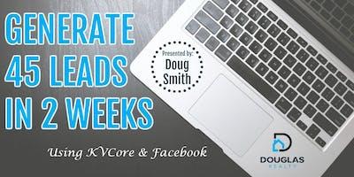 Pasadena - Generate 45 Leads In 2 Weeks Using Social Media!
