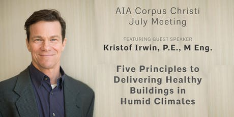 July Chapter Meeting featuring Kristof Irwin, P.E., M Eng. tickets