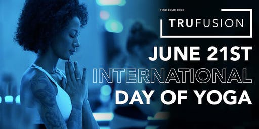 International Day of Yoga at TruFusion