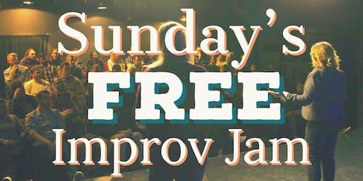 Sunday's Free Improv Jam