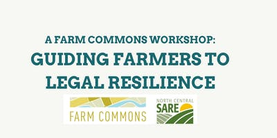 Workshop: Guiding Farmers to Legal Resilience - Minnesota