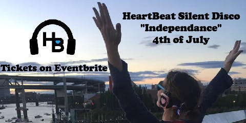 Heartbeat Silent Disco - 4th of July