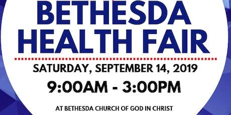 Bethesda Health Fair 2019 tickets