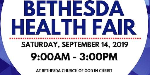 Bethesda Health Fair 2019