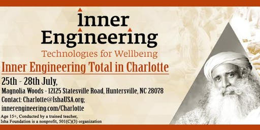 Inner Engineering - Free Intro Talk - July 2019