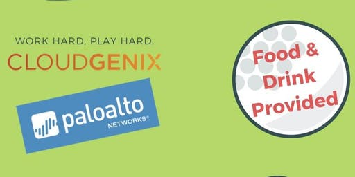 CloudGenix & Palo Alto TopGolf Event