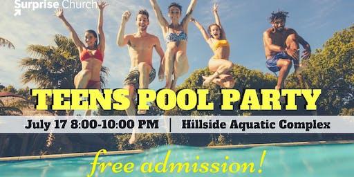 Teens Pool Party