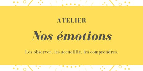Atelier à MLT : Nos émotions billets