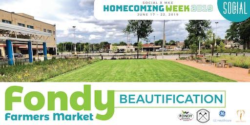 SX Homecoming Week: Fondy Farmers Market Beautification