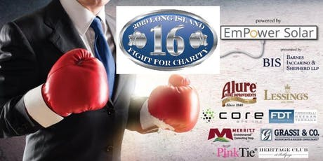 16th Annual Long Island Fight for Charity 2019 tickets