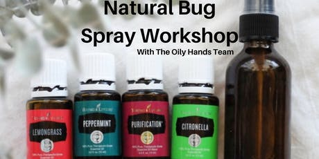 Natural Bug Spray Workshop tickets