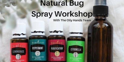 Natural Bug Spray Workshop