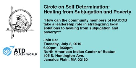 Circle on Self-Determination: Healing from Subjugation and Poverty tickets