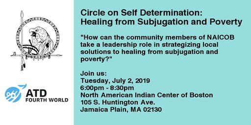 Circle on Self-Determination: Healing from Subjugation and Poverty