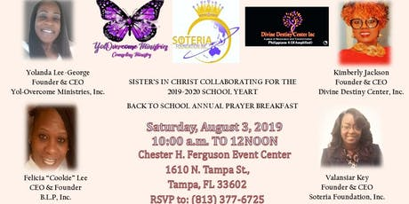 Annual Back To School Prayer Breakfast tickets