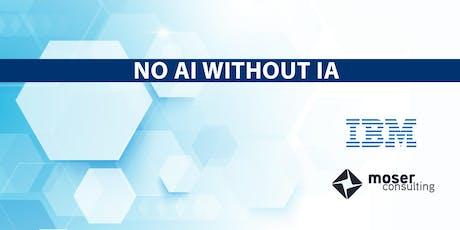 No AI without IA tickets