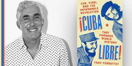 Tony Perrottet discussing Cuba Libre at Books & Books! tickets