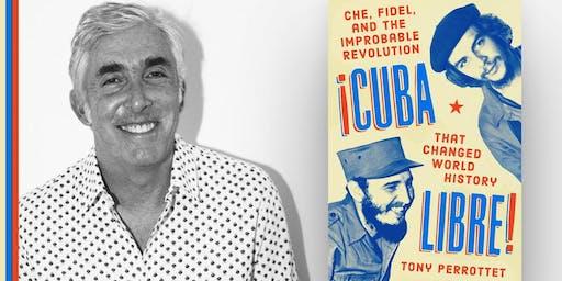 Tony Perrottet discussing Cuba Libre at Books & Books!