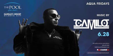 DJ Camilo at The Pool After Dark - Aqua Fridays FREE Guestlist tickets