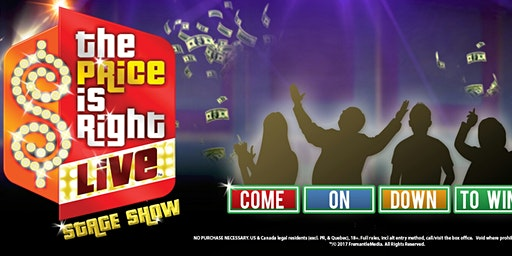 The price is right LIVE! guest host tyler bradley