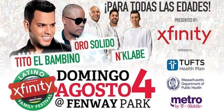 2019 BOSTON LATINO FAMILY FESTIVAL AT FENWAY PARK (WBOP GATHERING) tickets