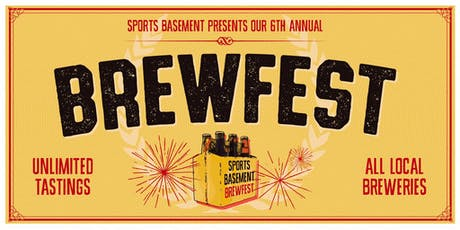 Sports Basement Walnut Creek: BrewFest! tickets