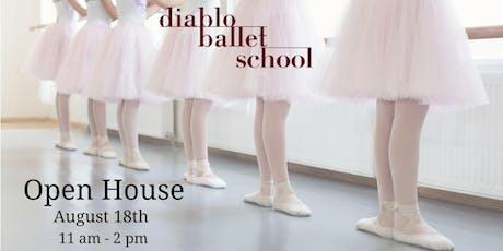 Diablo Ballet School's Open House  tickets