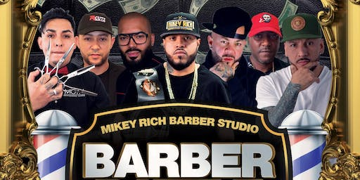 MIKEY RICH BARBER BATTLE