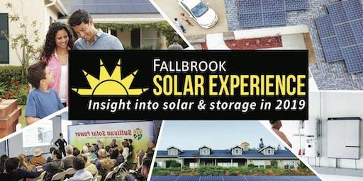 Fallbrook Solar Experience