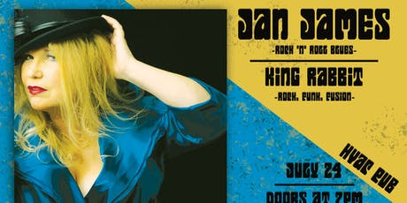 Jan James & King Rabbit at HVAC Pub @ HVAC Pub tickets