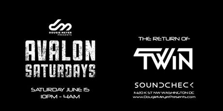 Avalon Saturdays - Kim Petras Concert After-Party w/ TWiN tickets