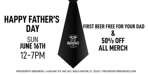 Father's Day at Prosperity Brewers