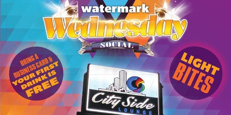 July's Watermark Wednesday Networking Social tickets